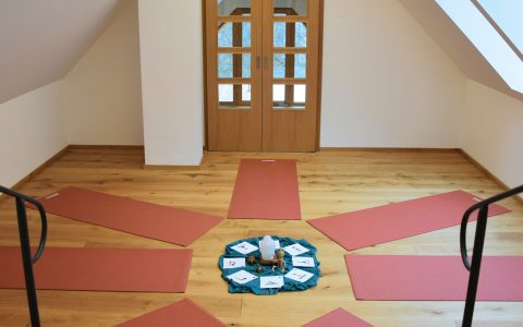 Yogaraum im Therapiezentrum Stadtschlaining